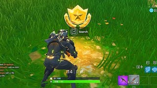 """Search Between Movie Titles"" Location - BATTLE STAR Location Found Fortnite Week 10 Challenges!"