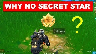 Why NO Fortnite Week 10 SECRET BATTLE STAR Location - STAR ONLY AVAILABLE IN FORTNITE SEASON 5