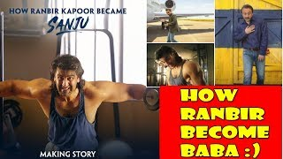 How Ranbir Kapoor Become Sanju Baba Video Will Be Release Today l Great Promotional Strategy
