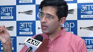 AAP Senior Leader Raghav Chadha Briefs Media on Officers Rejecting Orders by Delhi Govt