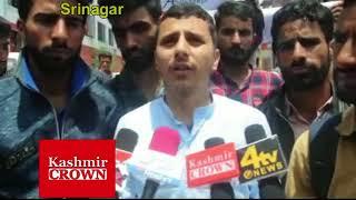 Students  Gujjar-Bakarwal Community of Kashmir  Stage demonstration In Srinagar(Sujah Baqal