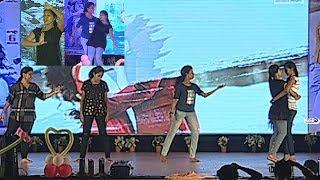 Bhimavaram College Girls Dance Performance   Bhimavaram Students Dance Performance   Sai Dharam Tej