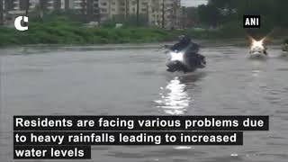 Heavy rainfall leads to severe water logging in Navsari