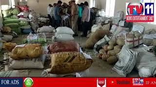 POLICE DESTROYED 32 THOUSAND KGS GANJA IN PADERU , ARUKU AREA ,  | Tv11 News | 05-05-2018