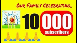 Thank you for 10k Subscribers | Wish u Always Support