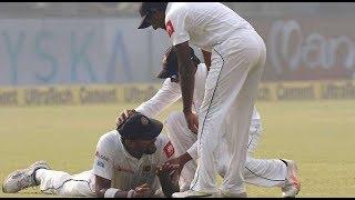 कैच लेने से पहले श्रीलंकाई फील्डर के साथ हुआ कुछ ऐसा, बच सकते थे धवन | india vs srilanka 3rd test