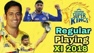 IPL 2018: Chennai Super Kings (CSK) Regular Playing(XI) Eleven | Cricket News Today