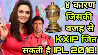 IPL 2018: Four reasons why Kings Eleven Punjab (KXIP) win ipl in this year | Cricket News Today