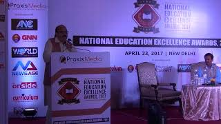 Amar Singh at National Education Excellence Awards 2017