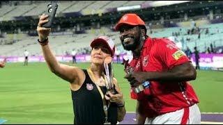 IPL 2018: Preity Zinta take a Selfie with Chris gayle and Kl Rahul | KXIP vs KKR