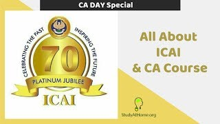 CA Day Special.. !!! All About ICAI & CA Course