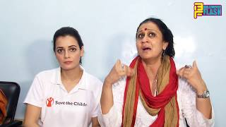 Uncut- Dia Mirza & Save The Children Falicitate Children Champion From The Street & Provide Identity
