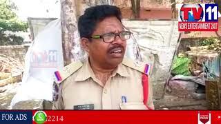 UNKNOWN PERSON DIED IN SRIRAM NAGAR , VISAKHA | Tv11 News | 10-05-2018