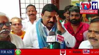 TRS INCHARGE HANUMANTH REDDY VISITS NALLAPOCHAMMA TEMPLE IN SURARAM ,QUTBULLAPUR |Tv11 News|10-05-18