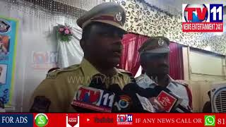 TRAFFIC POLICE CONDUCT TRAFFIC AWARENESS PROGRAM TO FRUIT&HALEEM VENDORS VIEW OF RAMZAN |Tv11 News