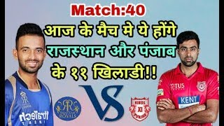 KXIP vs RR IPL 2018: Kings Eleven Punjab vs Rajasthan Royals Predicted Playing Eleven (XI)