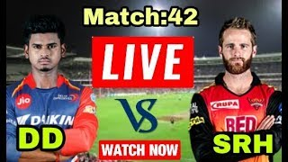 IPL 2018: Match 42 | DD Vs SRH | Live Streaming Match Video & Highlights | 10 May 2018