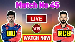 IPL 2018: Match 45 | RCB vs DD | Live Streaming Match Video & Highlights | 12 May 2018
