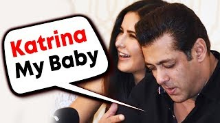 Salman Khan Calls Katrina Kaif His BABY; Katrina BLUSHES