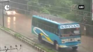 Heavy rain lashes Mangalore