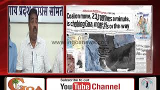 Local MLA Should Clear His Stand On Coal Handling: Amonkar