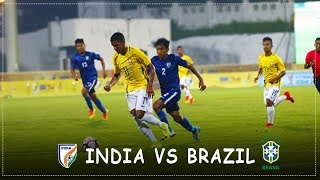 India U17 Vs Brasil u17 Highlights HD™