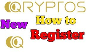 QRYPTOS EXCHANGE HOW TO REGISTER FULL PROCESS STEP BY STEP IN HINDI/URDU BY DINESH KUMAR