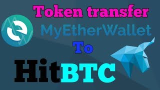 HOW TO SEND TOKEN FROM MYETHERWALLET TO HITBTC STEP BY STEP IN HINDI BY DINESH KUMAR
