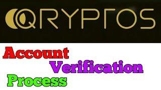 Qryptos Exchange Account  verification || जाने Account  verification के लिए  क्या जरुरी है .