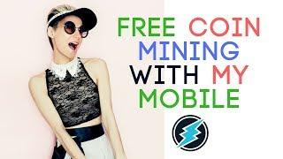 ELECTRONEUM MOBILE MINING || इलेक्ट्रोनियम को मोबाइल पर MINING कैसे करें?