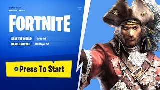 FORTNITE SEASON 5 BATTLE PASS THEME, MAP, SKINS CHALLENGES, PIRATES, GOLD, CAVES TO BE ADDED