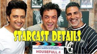 Housefull 4 Starcast Detail I Film Releasing In Diwali 2019