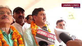 Jugal, Kavinder inaugurate additional facilities at Jammu Tawi Railway Station