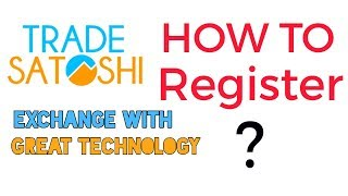 TRADE SATOSHI || HOW TO REGISTER IN TRADE SATOSHI EXCHANGE IN HINDI BY DINESH KUMAR