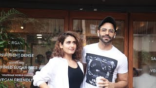 Fatima Sana Shaikh And Aparshakti Khurana On A Lunch Date Spotted At Bandra