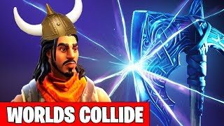 FORTNITE SEASON 5 VIKING VILLAGE TO BE ADDED IN MAP - WORLDS COLLIDE VIKINGS CONFIRMED