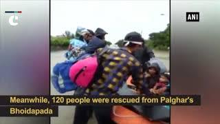 Mumbai rains: NDRF rescues 1500 stranded passengers