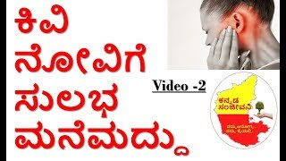 Home Remedies For Earpain Ear Infections Kannada How To