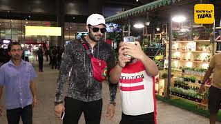 Manish Paul spotted at airport