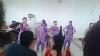 Assam downtown university | B.SC Nursing  students Dance Performance | Full HD Live