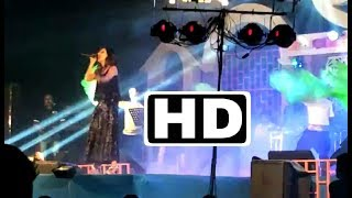 Bin Tere Sanam sing by Sayantika Actress at Dhubri Mega Musical Night FULL HD live
