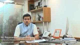 Shri  Rajyavardhan Singh Rathore, Hon'ble Minister, praises ICAI for their commendable work on GST.