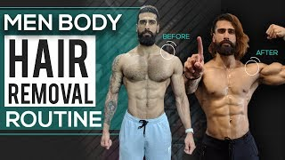 How To REMOVE BODY HAIR for Men (Manscaping) | Get Rid of Chest Hair | | Men's Grooming Routine