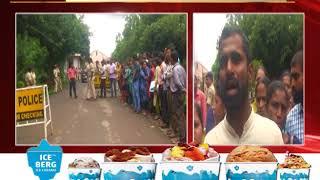 Sarva Shiksha Abhiyan Teachers Stage Dharna Outside Secretariat