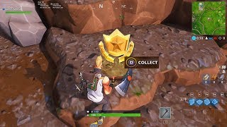 Fortnite Week 1 SECRET BATTLE STAR Location Revealed - Hidden Battle Star in Fortnite SEASON 5
