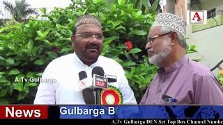 Gulbarga Mein Do Rozha Haj Tarbiyati Camp Ka Kamiyab ineqaad A.Tv News 12-7-2018