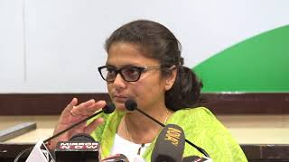 Sushmita Dev addresses media at Congress HQ on Nirmala Sitharaman's Statement