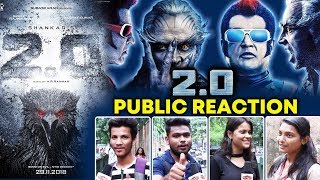 ROBOT 2.0 | Public Super Crazy For The Movie | PUBLIC REACTION | Akshay Kumar, Rajnikanth