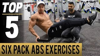 Top 5 SIX PACK ABS Exercises! (Hindi / Punjabi)