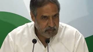Highlights: AICC Press Briefing By Anand Sharma on PM Modi's Statement